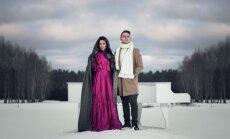 Samanta Tina ir Edgaras Lubys Foto: Artūrs Martinovs