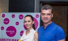 Žilvinas Šilgalis su drauge Kristina