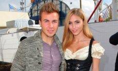 Anna Kathrin Briommel ir Mario Gotze
