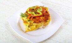 Vištienos kepsnys su tarkuotų bulvių karūna