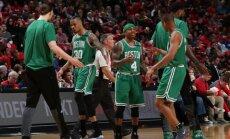 Bostono ekipa šventė užtikrintą pergalę.
