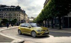 Šiemet į gatves riedės jau modernizuotas Volkswagen Golf