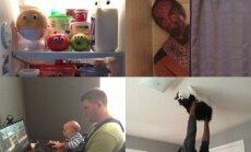 Ką daro vyrai, kai lieka vieni namuose