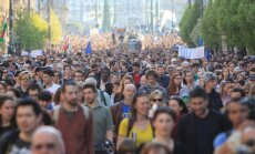 Budapest demonstration in support of the Central European University