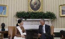 Barackas Obama,  Aung San Suu Kyi