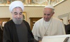 Hassan Rouhani, Popiežius Pranciškus