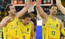Su lietuviais nežaidę australai palaužė Argentinos rinktinę