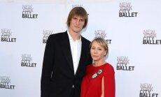 Andrejus Kirilenka su žmona Marija Lopatova