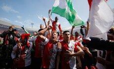 Feyenoord futbolininkų triumfas