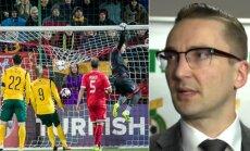 Edvinas Eimontas laukia FIFA informacijos apie statymus dėl Lietuvos ir Maltos rungtynių baigties