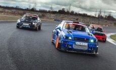 E. Einikis ir jo mėlynoji Audi S2