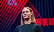 Jurgita Jurkutė-Širvaitė TEDxVilnius konferencijoje