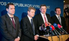 Leaders of the coalition parties after 2012 elections