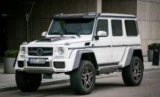 Brabus patobulintas G klasės Mercedes-Benz visureigis