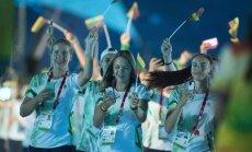 Europos jaunimo olimpinio festivalio atidarymas Tbilisyje