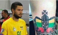 Nauja Luko Spalvio tatuiruotė