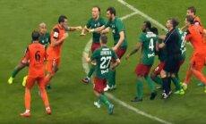 Masinės muštynės Rusijos taurės finale