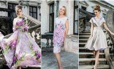 A. Bunikienė pristatė naują suknelių kolekciją