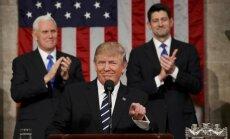 Donaldo Trumpo kalba JAV Kongrese