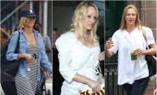 Heidi Klum, Pamela Anderson ir Uma Thurman