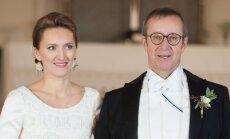 Toomas Hendrikas Ilvesas ir jo žmona Ieva Kupce
