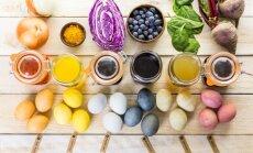 """<span style=""""color: #ff0000;"""">EKSPERIMENTAS:</span> kaip nudažyti kiaušinius natūraliomis priemonėmis"""
