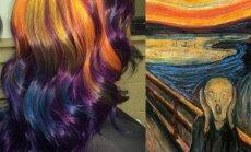 Plaukų stilistės Ursulos Goff sukurta šukuosena