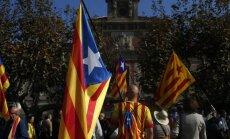 Katalonijos parlamentas nubalsavo už atsiskyrimo nuo Ispanijos proceso pradžią