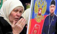 Čečėnijoje surengta R. Kadyrovą palaikanti demonstracija