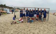 Paplūdimio futbolo turnyras Klaipėdoje