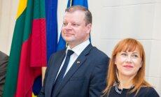 Saulius Skvernelis, Jurgita Petrauskienė