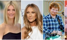 Gwyneth Paltrow, Celine Dion, Ed Sheeran, Katy Perry