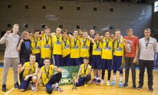 Šarūno Marčiulionio KA komanda - MKL U14 čempionė