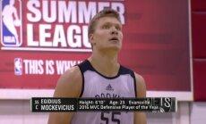 Egidijus Mockevičius NBA vasaros lygoje