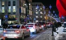 Žiema, automobiliai