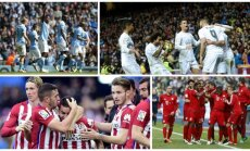 Man City, Real, Atletico ir Bayern (AFP/Reuters)