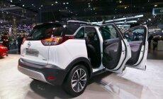Ženevos parodoje debiutuoja Opel Crossland X