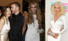 Jessica Biel ir Justinas Timberlake'as, Petra Ecclestone, Christina Aguilera