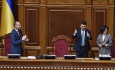 Volodymyras Hroismanas, Andrijus Parubijus