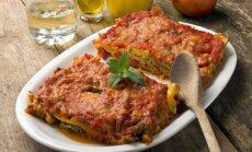 Itališkas cukinijų ir pomidorų apkepas