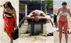Kauniečiai mėgaujasi vasaros malonumais