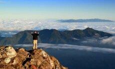 Akimirka ant vulkano