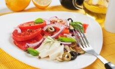 Pomidorų ir mocarelos salotos graikiškai