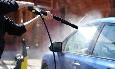 Jurbarkiečiai reikalauja savitarnos automobilių plovyklos
