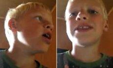 Lukas, kai jam tebuvo 11 m.