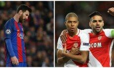 Lionelis Messi, Kylianas Mbappe ir Radamelis Falcao