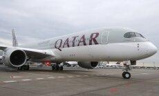 """""""Qatar Airways"""" lėktuvas"""