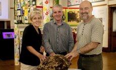 Cavano grafystės muziejų pasiekęs 2 tūkst. m. senumo sviesto gabalas