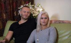 Giedrius Titenis su žmona