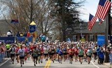 Bostono maratono dalyviai